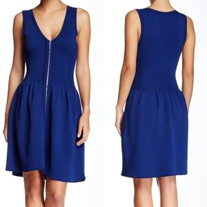 Sandro Ravage Knit Fit And Flare Dress Size 3 $375
